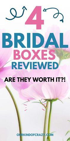 Best Bridal Subscription Box: Are Bridal Boxes Worth It? Bridal Boxes, Wedding Boxes, Wedding Ideas, Wedding Decorations, Groom Box, Engagement Box, Best Bride, Getting Engaged, Subscription Boxes