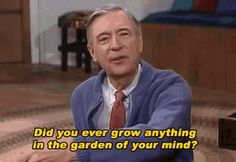 Mister Rogers may be gone from the Earth, but thank goodness he's alive inside the internet forever. Deja Vu Theories, Dr Luke, Rogers Gardens, Fred Rogers, The Bad Seed, Blown Away, Watch Tv Shows, Joy Of Life, Advice Quotes