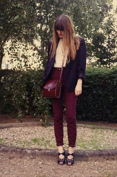 i want maroon pants