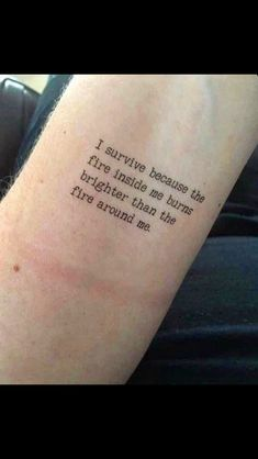 Set of Temporary Tattoo's Inspired Fire Inside Burns - Tattoo & Piercing - Tattoo Strong Tattoos, Small Tattoos, Mood Quotes, True Quotes, Qoutes, Motivation Tattoo, Tattoo Diy, Tattoo Ideas, Tattoo Designs
