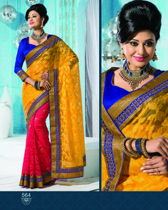 Fancy designer saree  whatsapp / call / viber 919884034418  An exclusive collection of Fancy Designer saree from the house of Gautam Marketing. This saree is a must have wardrobe collection and can be used for all occasions. These designs are exclusively crafted to bring the inner beauty of the women who adores our collection. --> For more updates follow us on ==>> Facebook - http://ift.tt/1OMW1Ow ==>> Twitter - @gmsarees ==>> Googleplus - GautamMarketingChennai ==>> Pinterest…