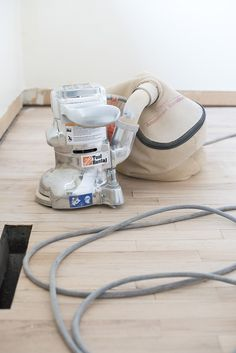 How to Refinish Hardwood Floors Like a Pro - Room for Tuesday how-to-sand-and-refinish-hardwood-floors<br> Do your floors need refinished? I'm sharing an extremely detailed tutorial of how to refinish hardwood floors like a pro! Diy Wood Floors, Rustic Wood Floors, Sanding Wood, Installing Hardwood Floors, Light Hardwood Floors, Refinishing Hardwood Floors, Wood Laminate Flooring, Engineered Hardwood Flooring, Diy Flooring