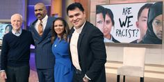 """GOOD MORNING MR. STEVE HARVEY GREAT TOPIC """"ARE WE RACIST""""?"""
