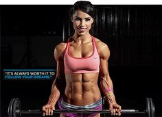WBFF Champion Andreia Brazier's Favorite Arms And Abs Workout! She has my dream body! Fitness Inspiration, Body Inspiration, Motivation Inspiration, Body Fitness, Fitness Goals, Female Fitness, Workout Fitness, Health Fitness, Fit Girl Motivation