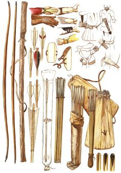 Archery Equipment - medieval