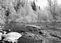 Spring of Kerava river