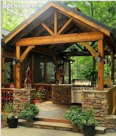 Awesome carport/entertainment area
