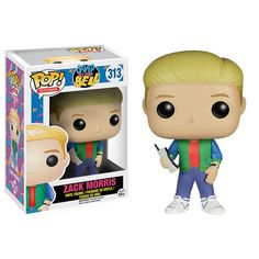 Saved By The Bell Zack Morris Pop! Vinyl Figure - Funko - Saved By The Bell - Pop! Vinyl Figures at Entertainment Earth