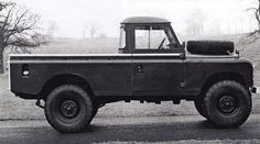 # Landrover 109 #Series 3 1-Ton side view