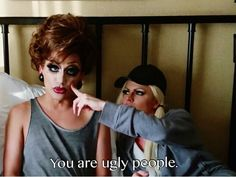 Bianca Del Rio and Courtney Act drag queens ruPaul ' s Drag Race season 6 winners  & third runner up.