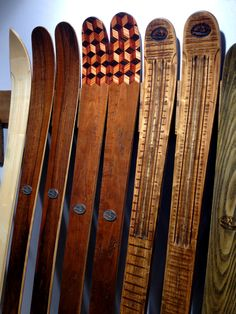 Love These Lucid Skis Hand Made From Maine Wood So