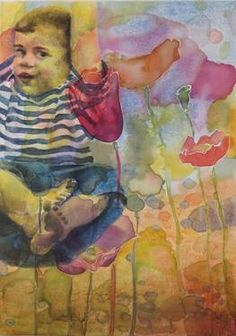 "Saatchi Art Artist Sabina Sinko; Painting, ""Happy Summer Feeling"" #art"