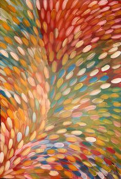 Gloria Petyarre - Huge 200cm x 136cm - Gallery Certificate, Photos - 6406