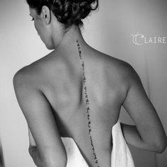 Tattoo: Carpe Diem Quam Minimum Credula Postero - Seize the day, because there's no promise in tomorrow