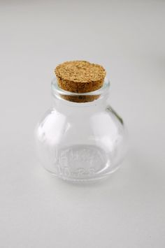 Small Glass Bottles with Cork 2.75in (Pack of 10)