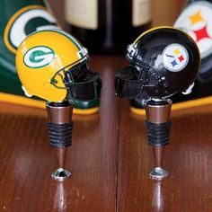 Come in all 32 teams! Go Pack Go, Bottle Stoppers, Kitchen Aid Mixer, Football Helmets, Nfl, Packing, Evergreen, Catalog, Highlights