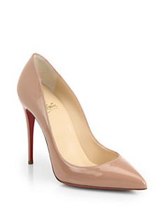 Christian Louboutin - Pigalle Patent Leather Pumps