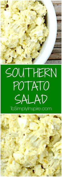 Favorite Southern Potato Salad - just like my grandmother used to make