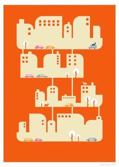 Home Print Different Sizes por JudyKaufmann en Etsy