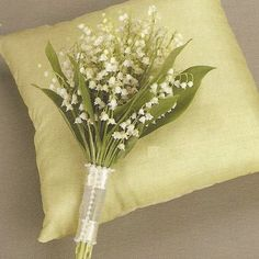 lily of the valley...bridal bouquet?