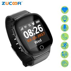 >> Click to Buy << Smart Wristwatch Watch D100 Elderly Location Tracker GPS Safe Position Heart Rate Monitor Support SIM Card SOS Call Anti-lost #Affiliate