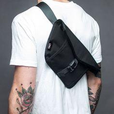 YNOT - Drift Mini Messenger Bag, Pencil Bags, Rare Clothing, Backpack Bags, Bag Making, Bag Accessories, Backpacks, Toronto Canada, Leather Design