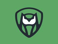Owl Logo 1 by Fraser Davidson #Design Popular #Dribbble #shots