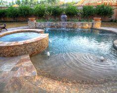 78+ ideas about Walk In Pool on Pinterest | Beach entry pool, Zero ...