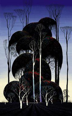 Forest Arabesque (serigraph)