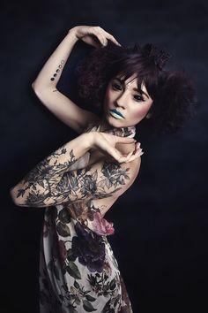 Unusual Beauty Portrait by Arielle Lewis Studios Model: Zoe Perez MUAH: Kalour Studios