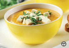 Asian sweet potato bisque    recipe @http://www.examiner.com/article/healthy-comfort-food-recipes-asian-sweet-potato-bisque#