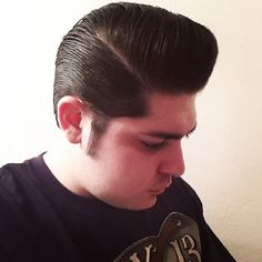 psychobilly hairstyles : pompadour #pomp #rockabilly #pomade #summer #vintage #love #hairstyle ...