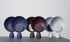 Ma selection #deco avril 2016 Lampe de table « Planet » designer #MetteSchelde #lighting #lampadaire #design #createur #mobilier #furnituredesign #lampe #ceramique #ceramic #blackandwhite #noiretblanc #homedeco #inspirationdeco