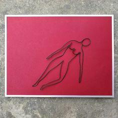 Post orgasmic chill | 30 X 40 cm | web: www.artbending.ro
