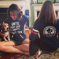 Large -Beagle Freedom Project - Until Every Cage is Empty. Liberate Them