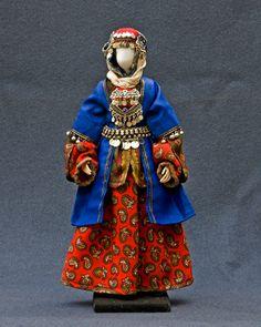 Женский национальный костюм народов Кавказа (часть 3)  Аварка - Дагестан   The Daghestanis – An Avar Woman