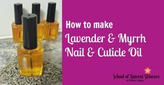 Create your own Manicure in a Bottle… I like to call Nail & Cuticle Oil a 'manicure in a bottle'. Regularly using a Nail & Cuticle Oil to meet your specific nail needs or concerns, is the best way to achieve healthier-looking, stronger, longer and more beautiful nails. Your nails and cuticles will look as …