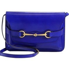 Pre-owned Gucci Shoulder Bag (£510) ❤ liked on Polyvore featuring bags, handbags, shoulder bags, blue, gucci shoulder bag, genuine leather purse, genuine leather handbags, pre owned handbags and blue purse