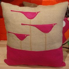 DIY pillows | unique gift for kids: bird pillows, sewing patterns | make handmade ...