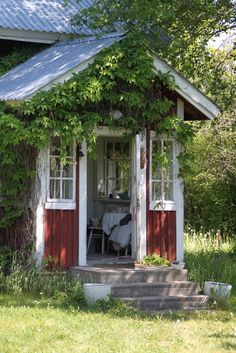 Nice porch area