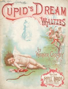 Wings of Whimsy: Cupid's Dream Waltzes Sheet Music Cropped - free for personal use