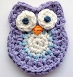 The cutest little crochet owl - looks like pattern is in US crochet terms which UK hookers need to bare in mind!