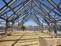 LDa Architecture & Interiors Steel Trusses, Interior Architecture, Louvre, Building, Travel, Architecture Interior Design, Viajes, Steel Beams, Interior Designing