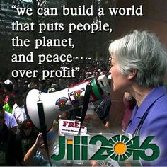 Jill Stein will actually be on the ballot next November. That fraud, Bernie, will be out of the race and openly campaigning for Hillary by midnight of Super Tuesday... almost as if by plan.
