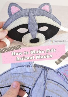 Make these masks for everyday play.