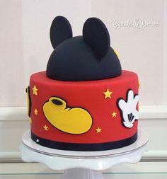 Tarta Mickey y Minnie Mouse 3D