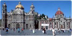 pontos turisticos do mexico -Basílica de Nossa Sra. de Guadalupe, na cidade do México.