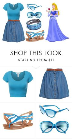 """""""Aurora - Summer"""" by dutchveertje ❤ liked on Polyvore featuring A Wear, belle by Sigerson Morrison and Roberto Cavalli"""