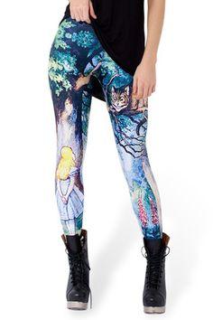 Colorful Personality Printed Skinny Leggings