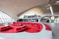 Terminal de la TWA de Saarinen por Max Touhey. Señala encima de la imagen para verla más grande.